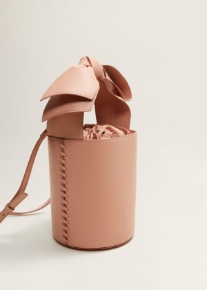 bow bag pink