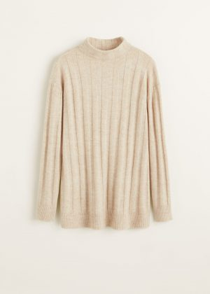 ribbed recycled sweater mango