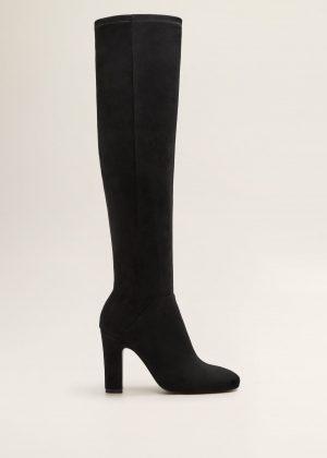 high heel boots Mango