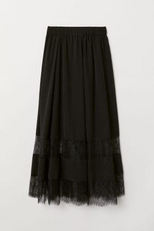 skirt lace h&m