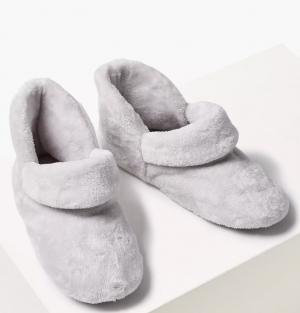 M&S COLLECTION  Turned Down Slipper Boots