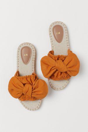 Brown/Orange Slides